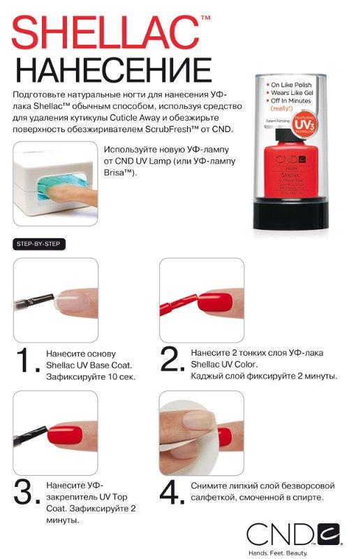 Как покрывать ногти гель лаком в домашних условиях пошагово